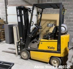 Used- YALE forklift model GLC030A (3093 Hours)