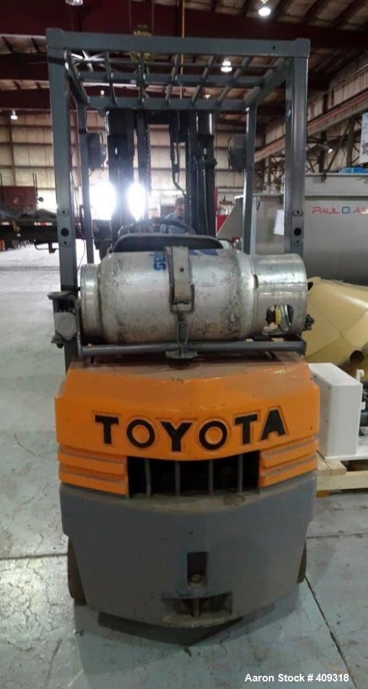 Used-TOYOTA Forklift Model 5FGC15 1995(7263 Hours)