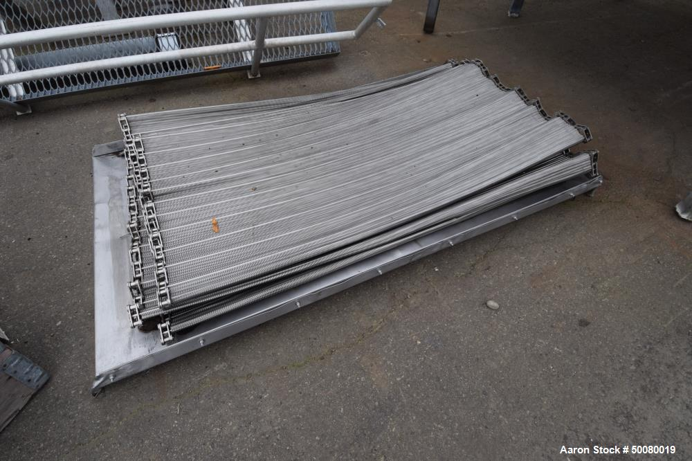 "Used- Frigoscandia AGA IQF Individual Quick Freezing Tunnel, Model L624. Approximate 72"" wide x 35' long, wire mesh conveyor..."