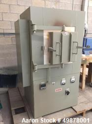 Used- Lucifer High Temperature Lab Box Furnace, Model CL3027-K12.