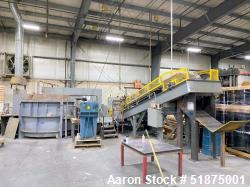 Used-Gas-Powered Melting Furnace and Casting Conveyor Machine