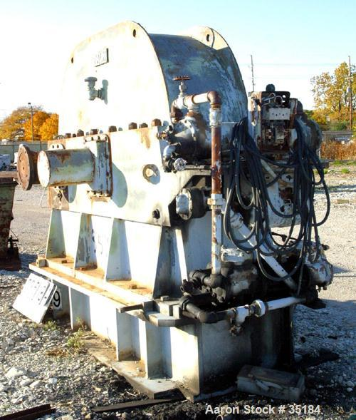 USED: Falk parallel shaft speed increaser 36.000 x 19 1/2, m.o no. H5540-0030, hp 5000. Ratio 6.016, driver 720, driven 4331...
