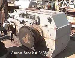 USED: Horsburgh and Scott Mark II helical speed reducer. 400 hp, 1150 rpm input, 55.28 rpm output. 20.805:1 ratio. 1.405 ser...