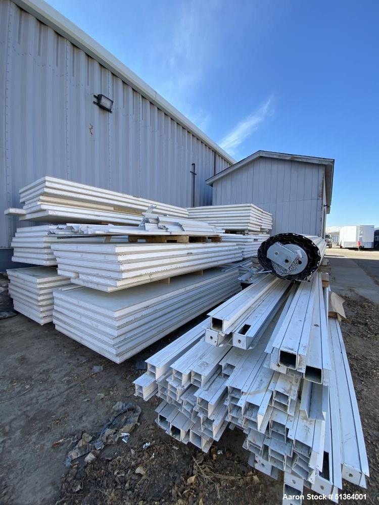 Used- Class A Interior Vinyl Covered Gypsum Board
