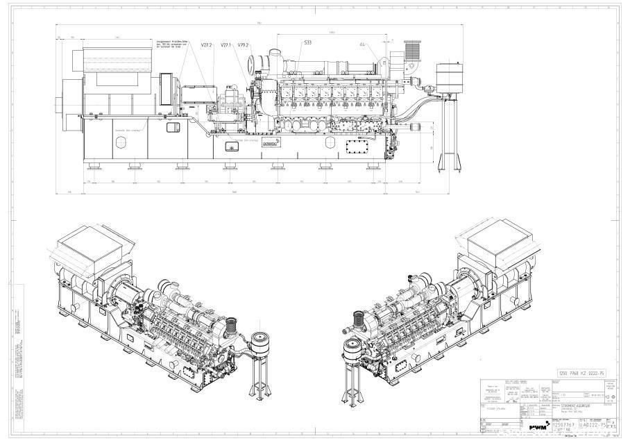 Unused- Caterpillar Cogeneration Natural Gas Generator System, 1.5 MW.