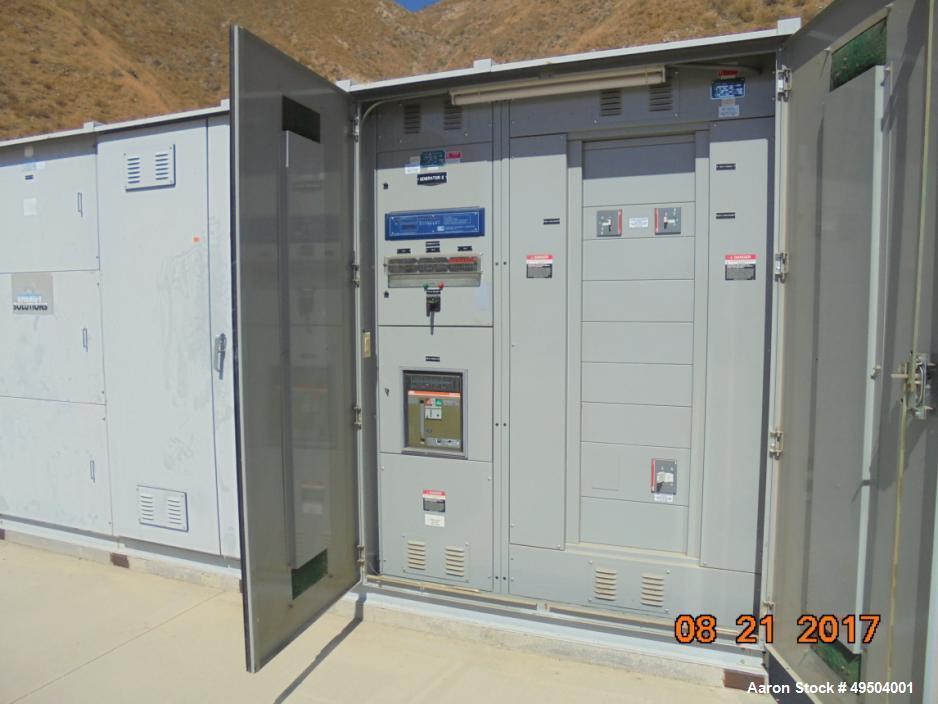 Used- Jenbacher 800 KW / 1000 HP Natural Gas Engi