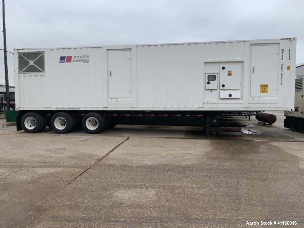 Used- MTU 1000 KW (1250 KVA) Tier 2 Diesel Generator Set