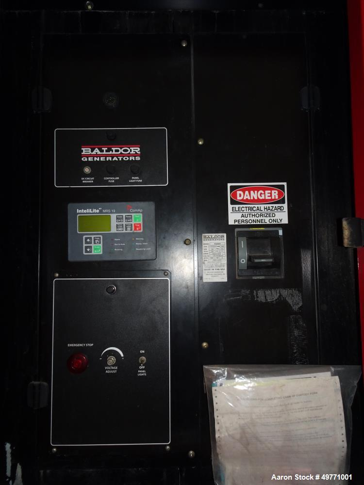 Used- Baldor Trailer Mounted Diesel Powered Generator, 200 KW / 250 KVA.