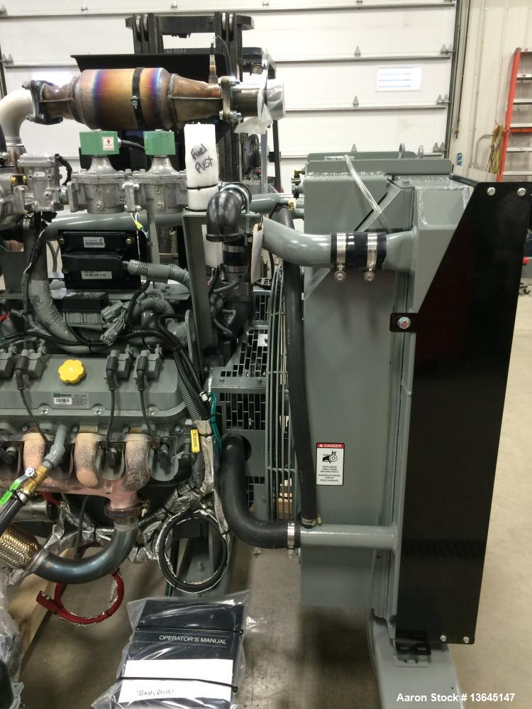 New- 150 kW Standby Emergency Stationary Standby Natural Gas Generator, Model PS150-01. EPA Certified.