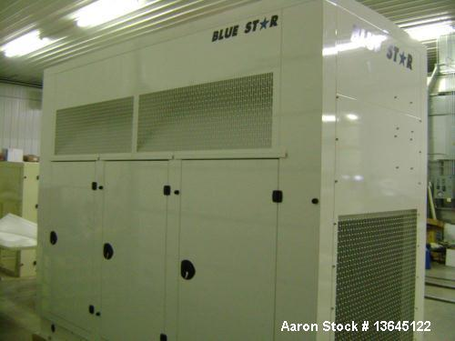 Blue Star Power Systems 150 kW Standby Natural Gas Generator Set, Model D081TIC.
