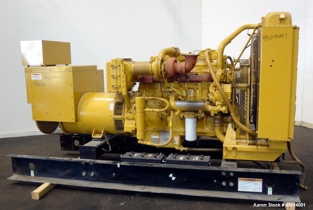 Used- Caterpillar 400 kW standby diesel generator