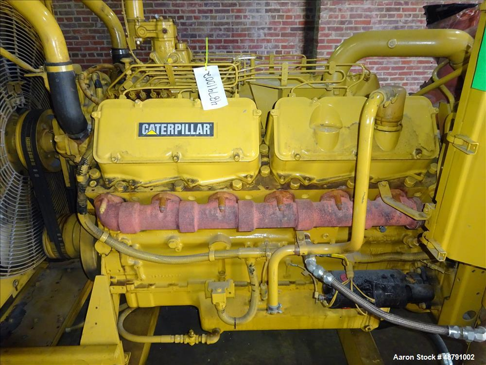 Used- Caterpillar 500 kW Standby Diesel Generator.