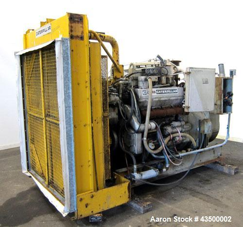 Caterpillar 300 kW diesel generator set, CAT D346