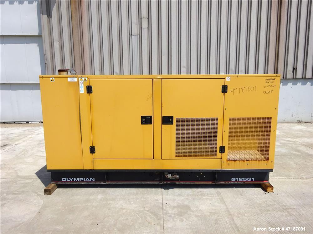Used- Caterpillar Olympian 125 kW standby (114 kW