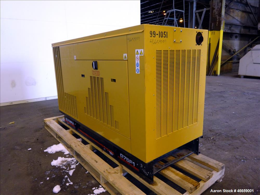 Used- Caterpillar / Olympian 70 kW standby natura