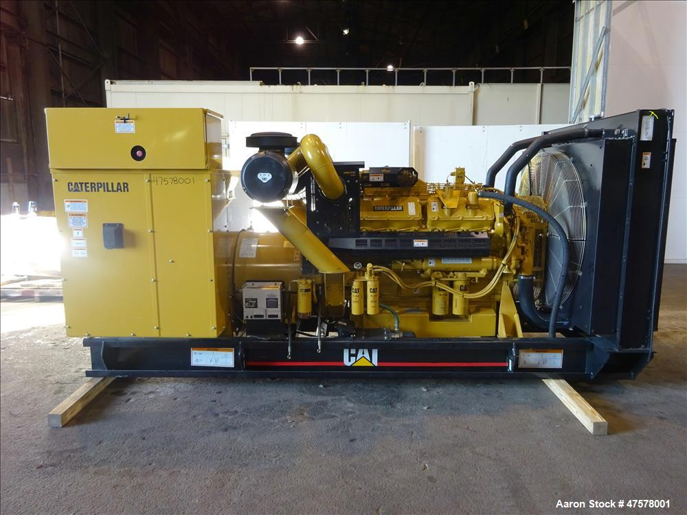 Cat Natural Gas Generator For Sale