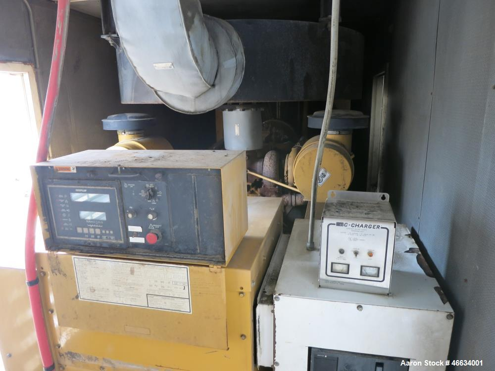 Used- Caterpillar Standby Portable / Trailered Diesel Generator Set.