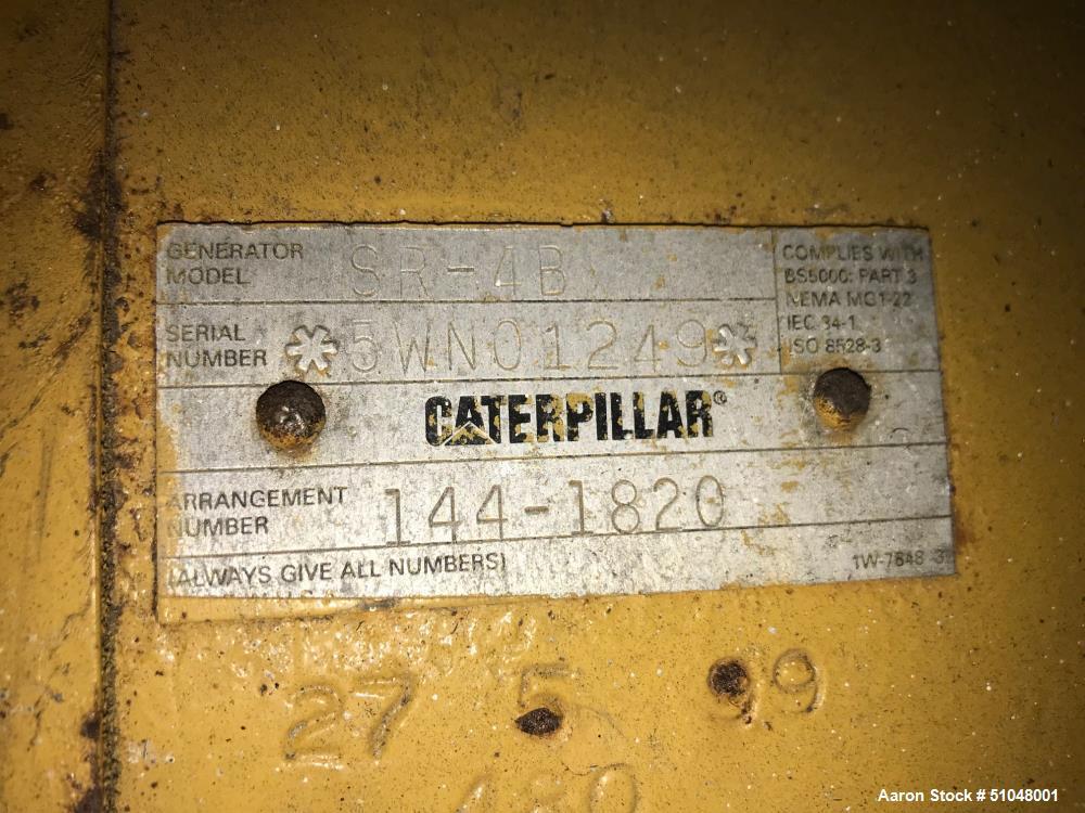 Used- Caterpillar Generator, 1750 KW, Model XQ1750