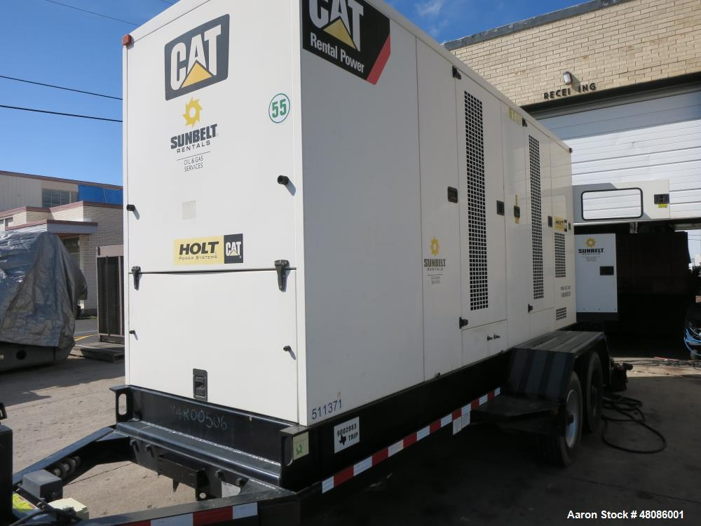 Used 2009 Caterpillar Xq400 400 Kw Standby 365