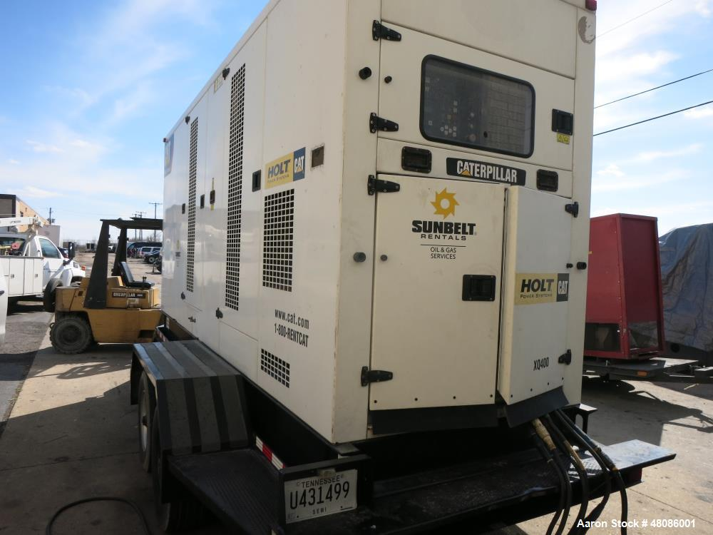 Used- 2009 Caterpillar XQ400 400 kW standby (365