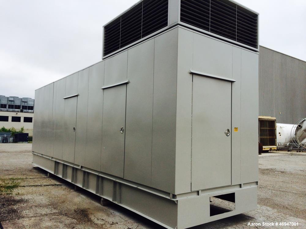 Used- Cummins 1500 kW Diesel Generator Set. Cummins KTA50-G9 engine