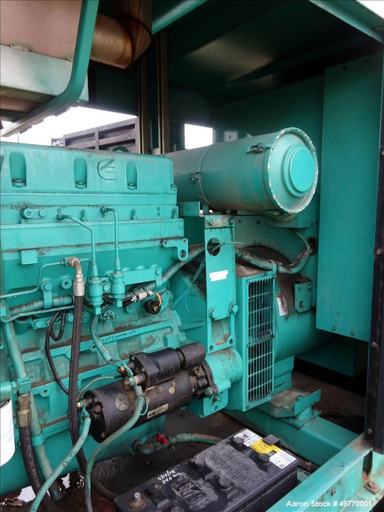 Used- Cummins 200 kW Standby Diesel Generator Set, Model 200DFAA