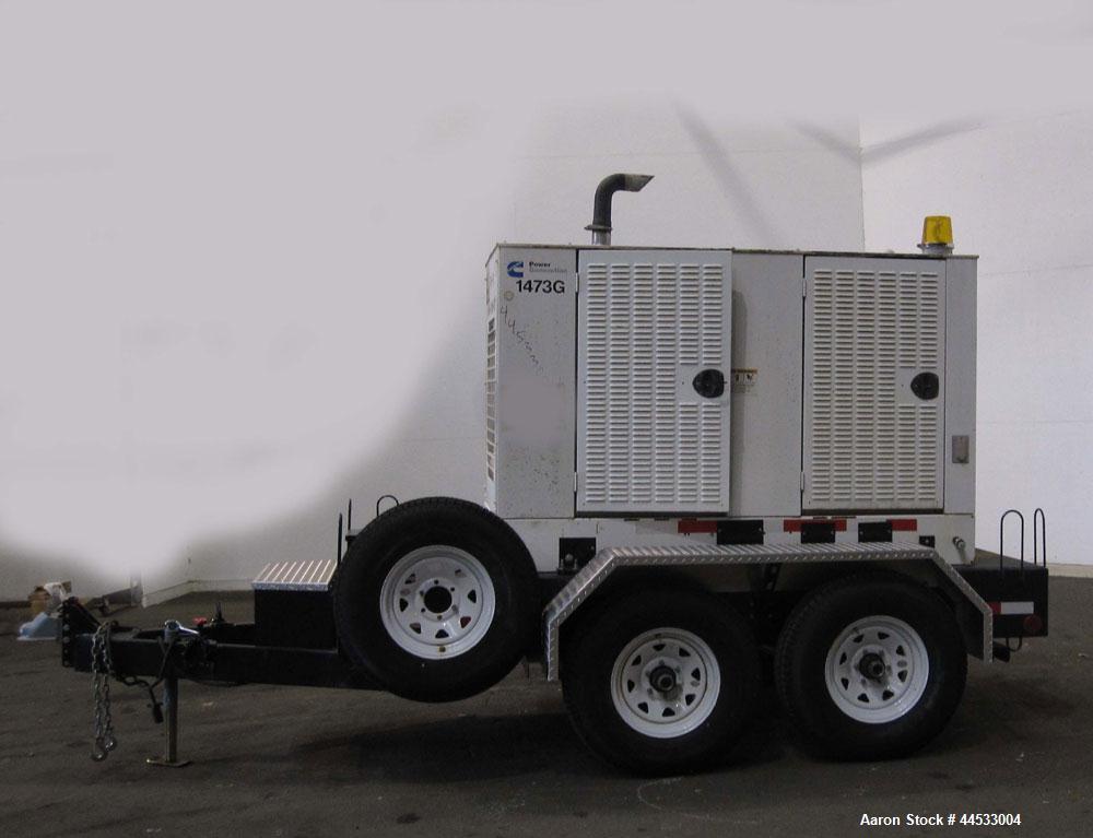 Used- Cummins 35 kW standby (32 kW prime) portabl
