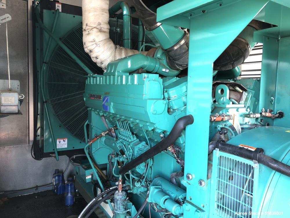 Cummins 750 kW standby (680 kW prime) Diesel Generator Set
