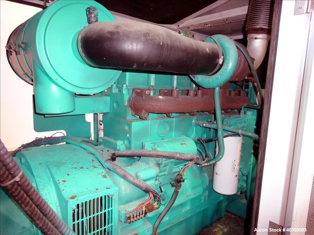 Used- Cummins Onan 125 kW Trailered Diesel Generator Model DGEA.