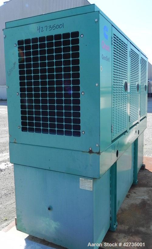 Used Cummins Onan 125 Kw Diesel Generator Set