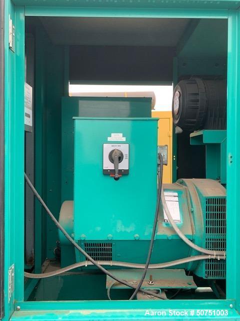 Used- Cummins 100 KW Standby Portable / Trailered Diesel Generator Set
