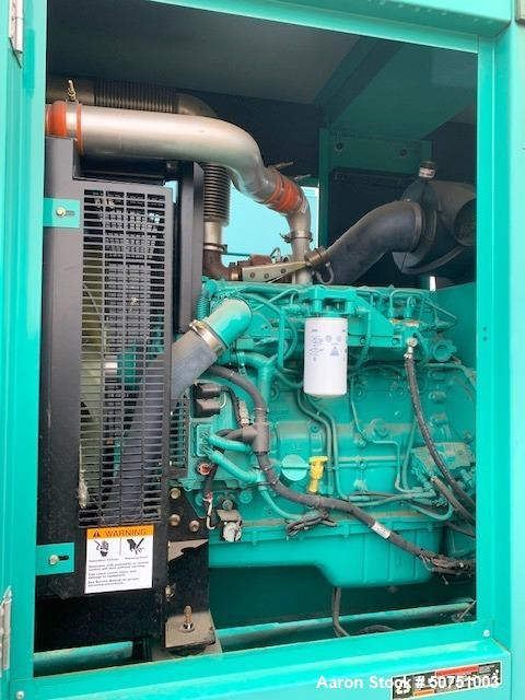 Used- Cummins 100 KW Standby Portable / Trailered Diesel Generator Set