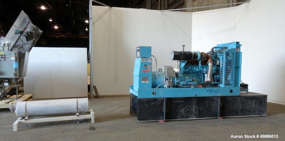 Used- Energy Dynamics 350 kW Standby Diesel Generator Set, Model EDI-350-CB