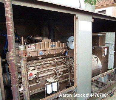 Used- Cummins 350 kW standby diesel generator set