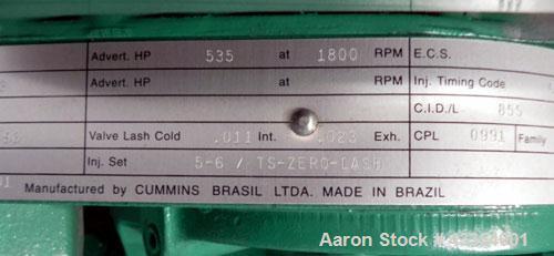 Used- Cummins Onan 350 kW standby (315 kW prime)