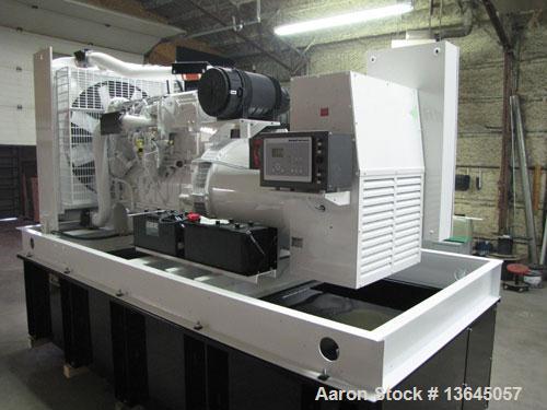 Unused-New 500 kW Cummins Powered Standby Diesel Generator Set. Cummins QSX15-G9 EPA tier 2 engine rated 755 hp @ 1800 rpm. ...