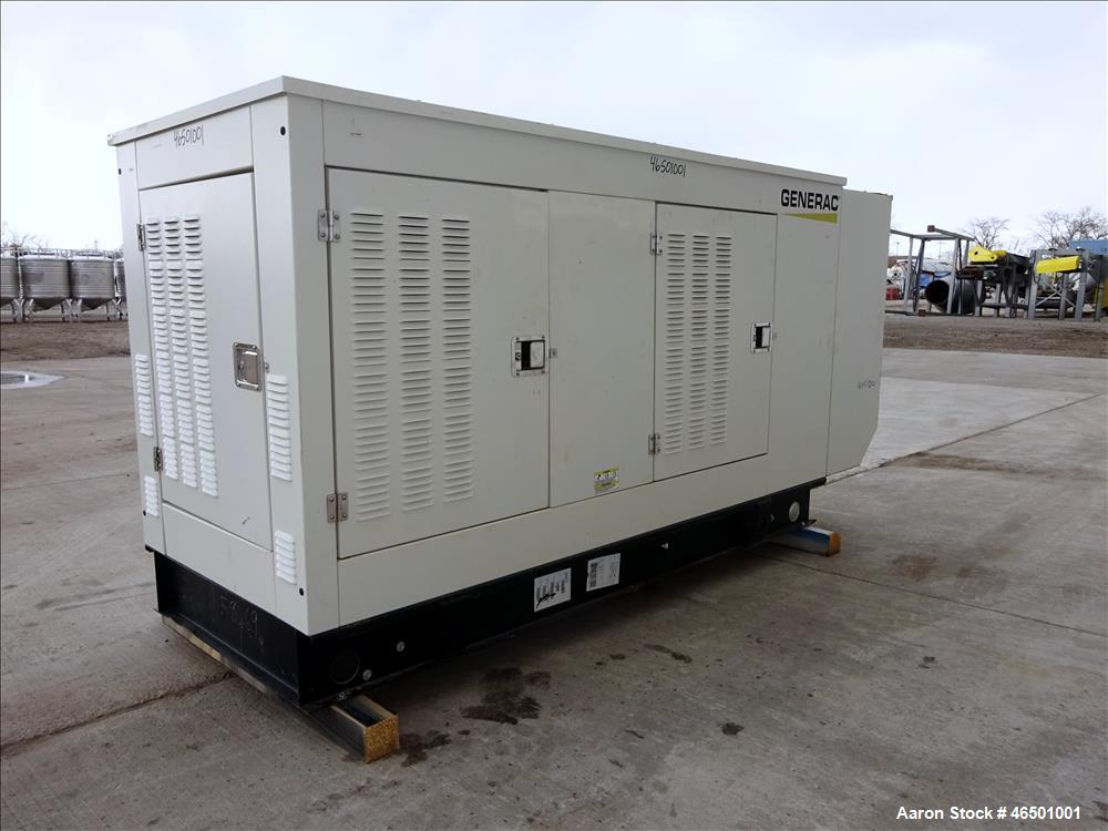 Used- Generac 70 kW Standby (63 kW prime) Natural