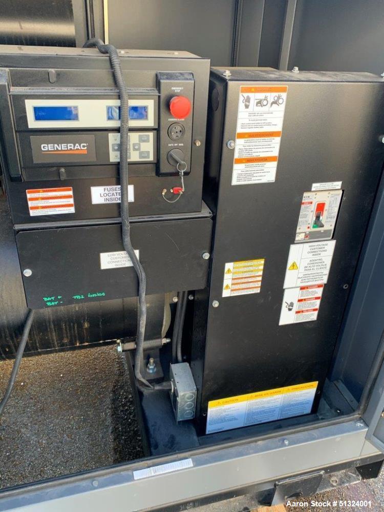 Used-  Generac SG200 200 kW Natural Gas Generator Set