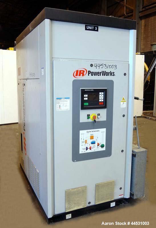 Used- Ingersoll-Rand PowerWorks 70 kW microturbin