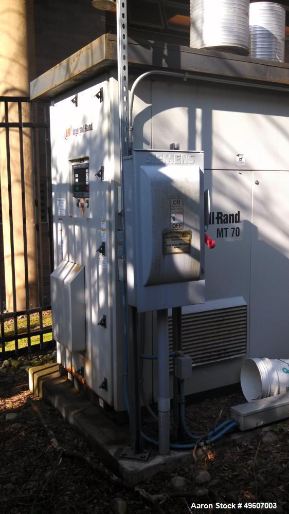 Used- Ingersoll Rand Microturbine, Model MT 70. 70 kW.