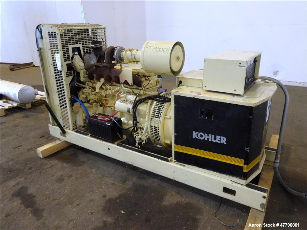 Used Kohler 100kw Standby 90 Kw Prime Diesel G