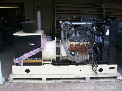 Used-Kohler Generator, Model 125 RZG Natural gas,