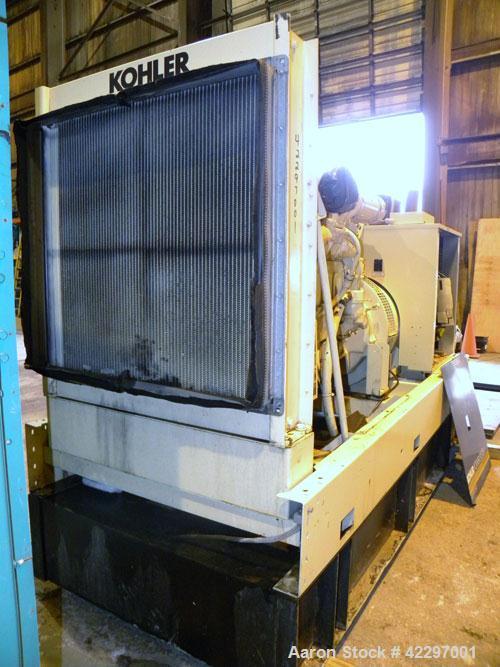 Used Kohler 200 Kw Diesel Standby Generator Set