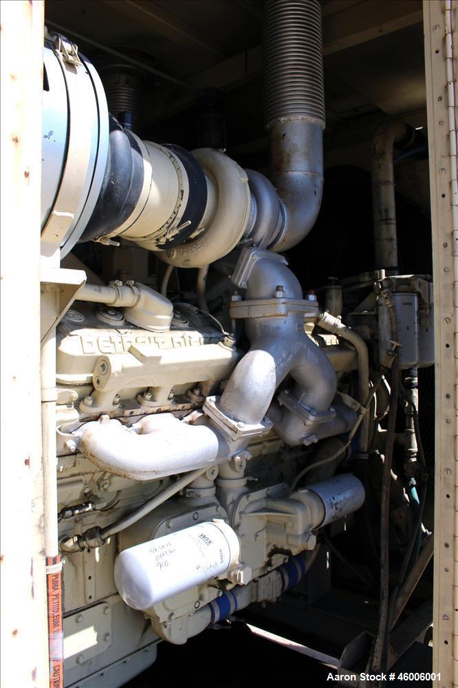 Used- Kohler/Detroit Diesel 600 kW standby (545 k