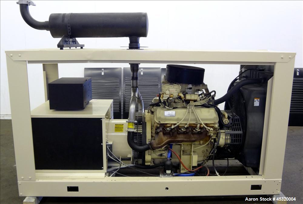 Used Kohler 60 Kw Standby Natural Gas Generator