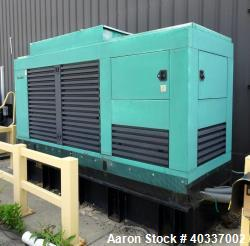 Cummins / Onan 200 kW diesel generator set, model 200DFBD37195E, 3/60/277-480V. Cummins NT-855-G4 en...