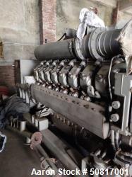 Used- MTU Friedrichshafen GmbH 1550kW Gas Generator Set