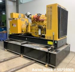 Used- Caterpillar 300 kW Standby Diesel Generator Set.