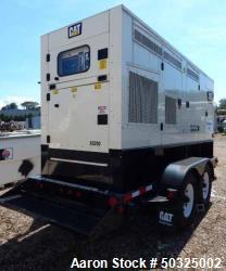 Used- Caterpillar Tier 4 Final Rental Grade 182 kW Portable Diesel Generator Set