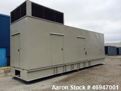 Used- Cummins 1500 kW Diesel Generator Set, Cummins KTA50-G9 Engine.